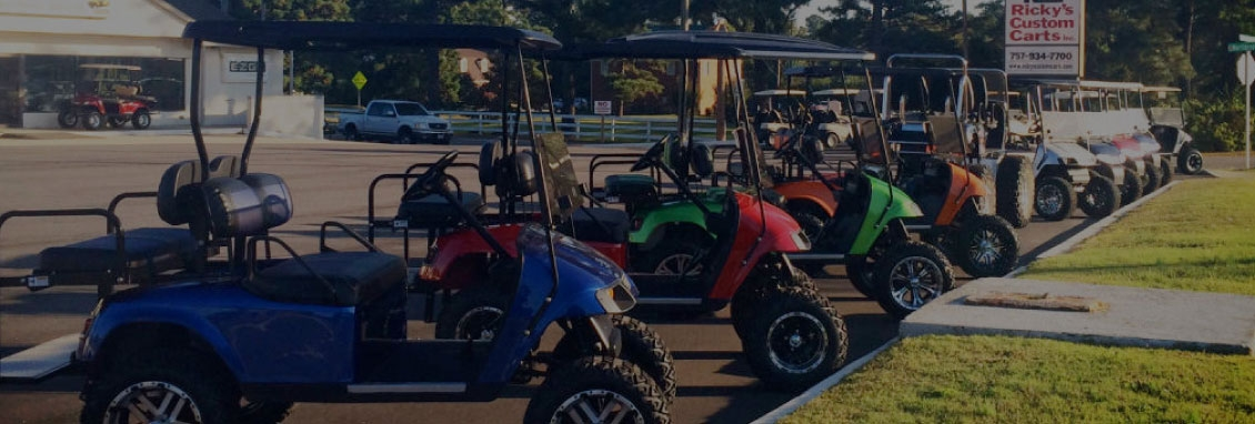Ricky's Custom Carts | Custom Golf Carts | Suffolk Virginia